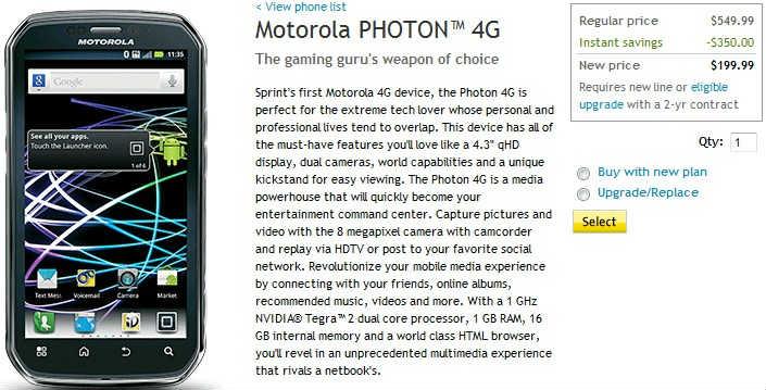 sprint-photon-4g